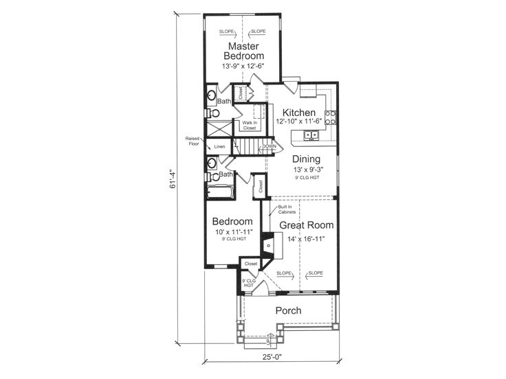 House plans for retirees home design and style for Small house plans for retirees