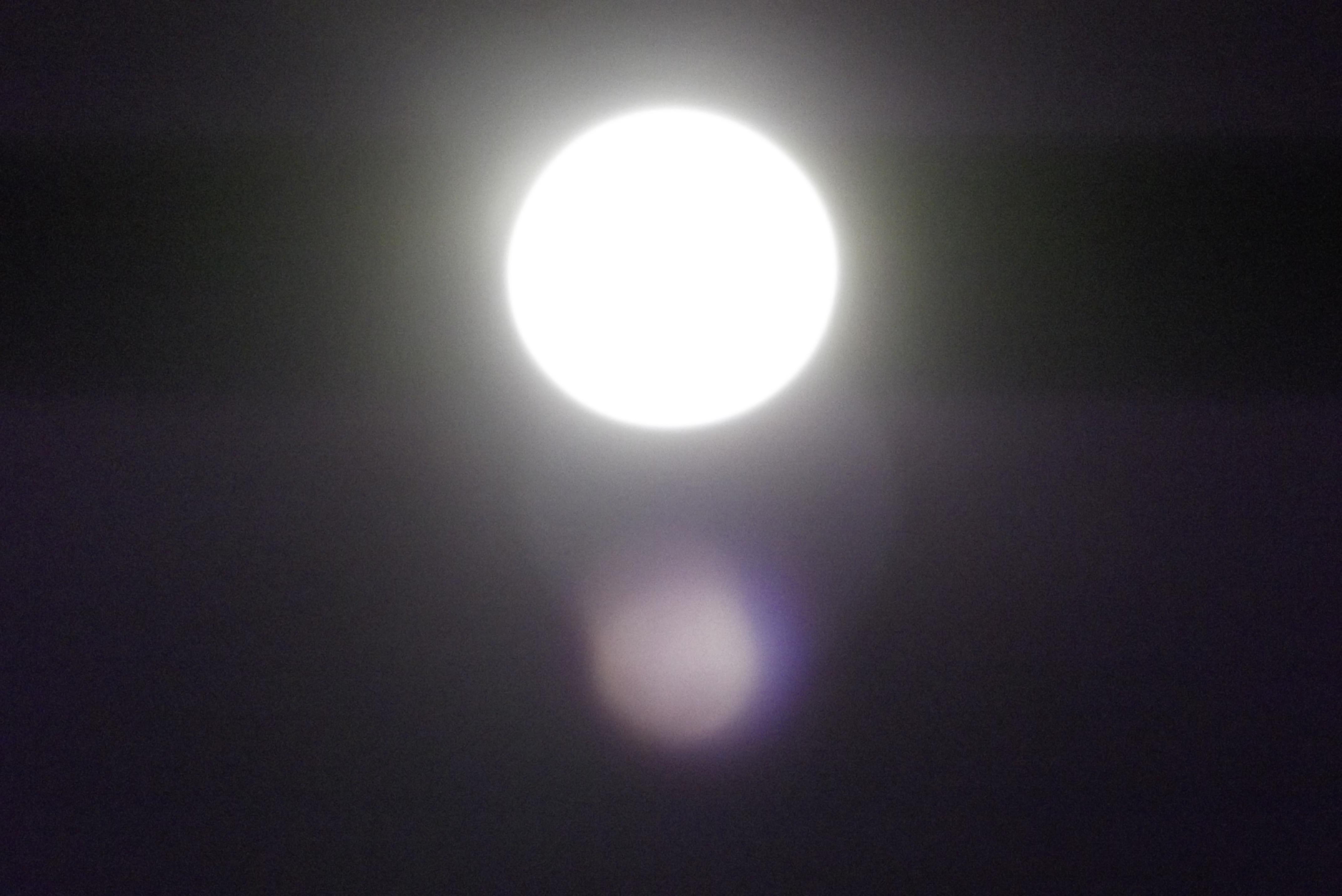 moon & light artifact
