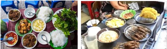 Hanoi, Vietnam food