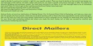 Connect with the Targeted Direct Mailers group