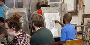 Connect with the City and Guilds Art School group