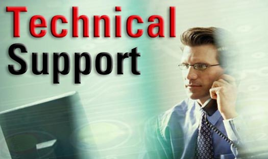 Technical-support-unity-software