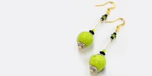 DIY: Simple Single Long Drop Earrings Tutorial
