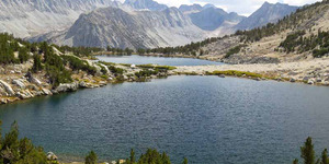read about High Sierra backpacking trip