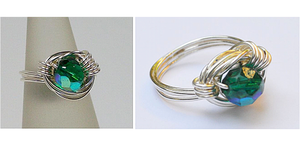 read about Wire Wrapped Ring Tutorial