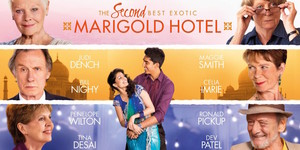 "Movie review: ""The Second Best Exotic Marigold Hotel"""