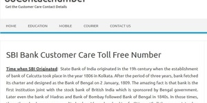 read about SBI Home Loan Customer Care Number