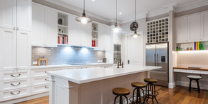 read about Stunning Modern White Kitchens