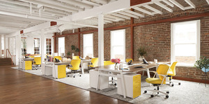 read about The usage of limited space in offices