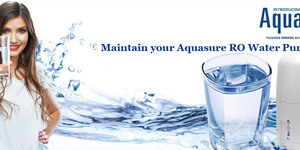 read about How to Maintain your Aquasure RO Water Purifier?