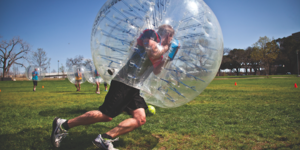 read about What is Bubble Soccer, how is it played and its objective?