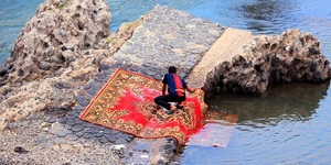 read about How to Dry a Wet Oriental Rug In Simple Three Steps