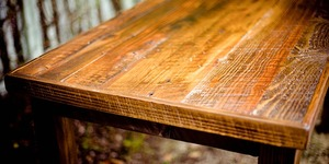 read about How to Make a Wooden Table from Scratch