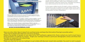 read about Online Direct Mailers Marketing