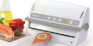 read about The foodsaver v3240 automatic vacuum sealing system with starter kit