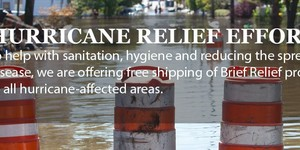 read about Brief Relief Personal Lavatory Systems Utilized to Aid Hurricane