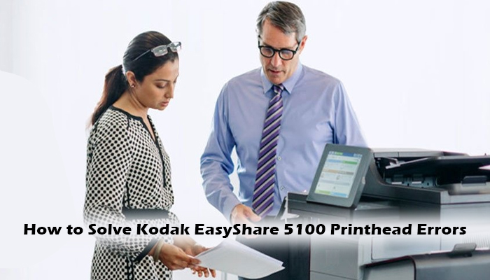 Boomeon | How to Solve Kodak EasyShare 5100 Printhead Errors