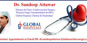 read about  Off Pump Coronary Bypass Surgery by Dr. Sandeep Attawar