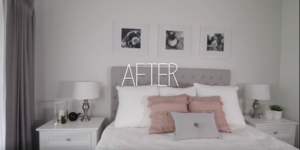 read about Cheap Decorating Ideas: The Amazing One-Day Bedroom Makeover