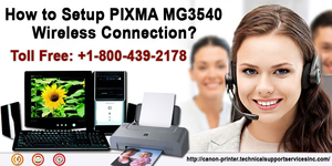 read about How to Setup PIXMA MG3540 Wireless Connection?