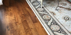 read about Refinish Your Floor For A Charming Look