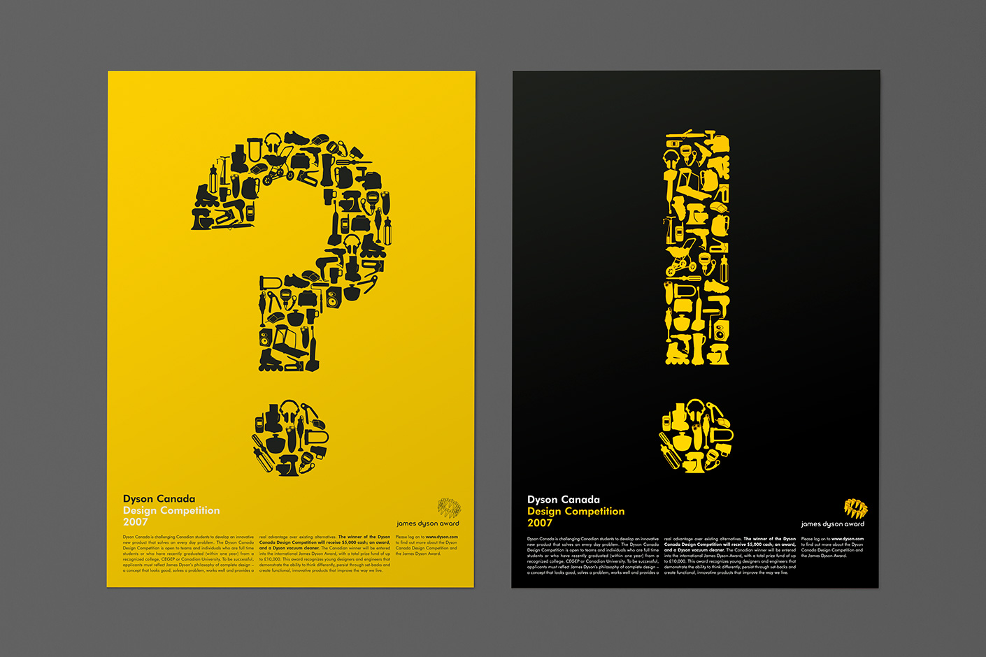 Poster design competition - Dyson Design Competition