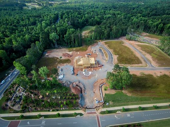 The Legacy Clubhouse Construction