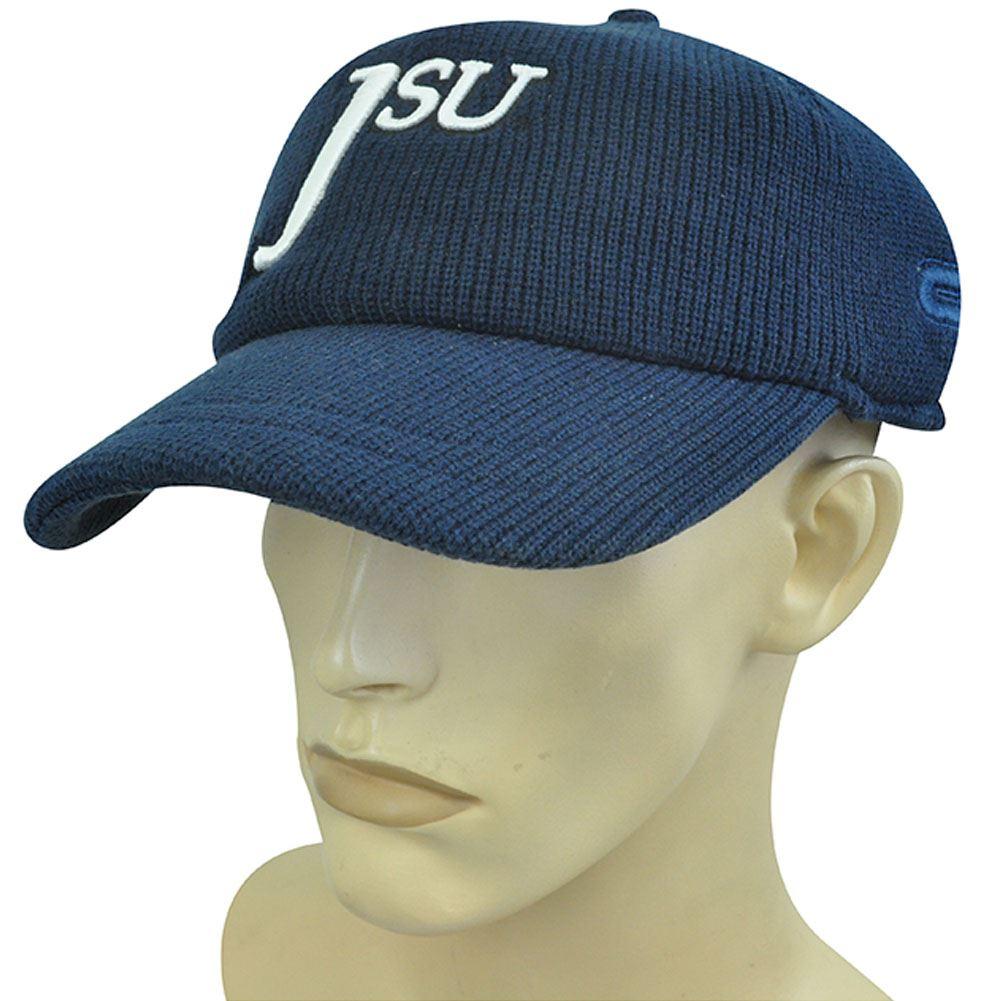 4d7d14b8742 Colosseum Ncaa Knit Hat Cap Beanie Visor Jackson Tigers Navy Blue
