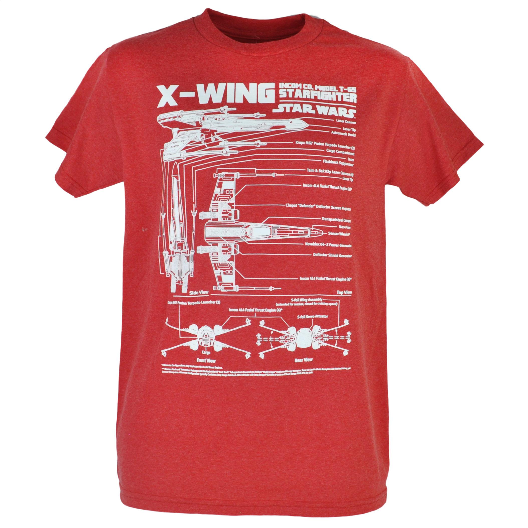 disney star wars x-wing schematics t-65 starfighter heather red t, Wiring schematic