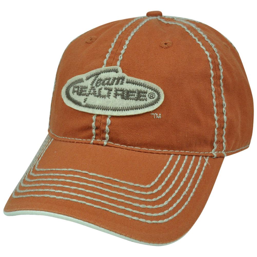 Team realtree brand patch stitch relaxed slouched fit for Fitted fishing hats