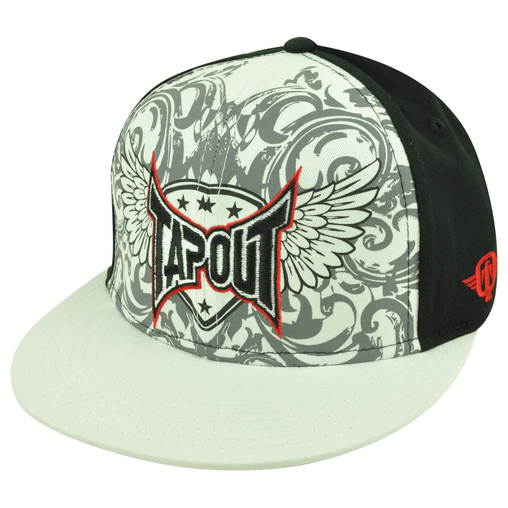 tapout snapback flat bill mma ufc ultimate cage fighting