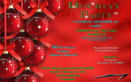 2015 Holiday Party At Parkway by the lakes Banquets