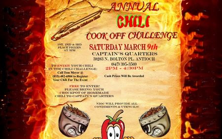 2019 Chili Contest at Captain's Quarters