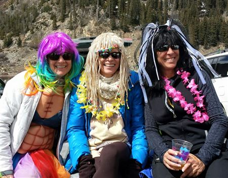Photos from various past Annual Beach Parties at A-Basin