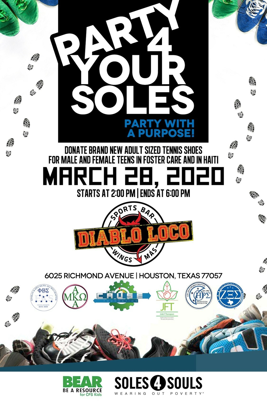2020Party4YourSoles