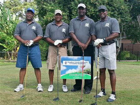 Our C.A.U.S.E. Foundation's Golf TeamOur Brothers that like to play golf showing their skills...