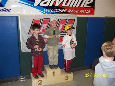 Photos from the 2006 Pinewood Derby
