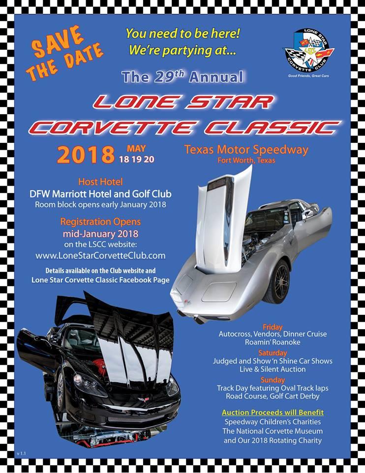 Lone Star Corvette Classic Events Alamo Area Corvette Club - Classic car show fort worth