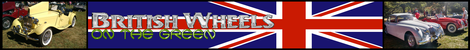 British Wheels On The Green Banner