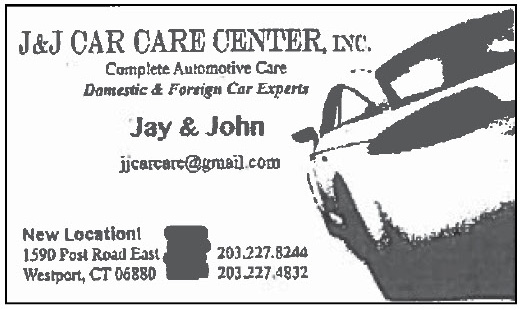J & J Car Care Ad