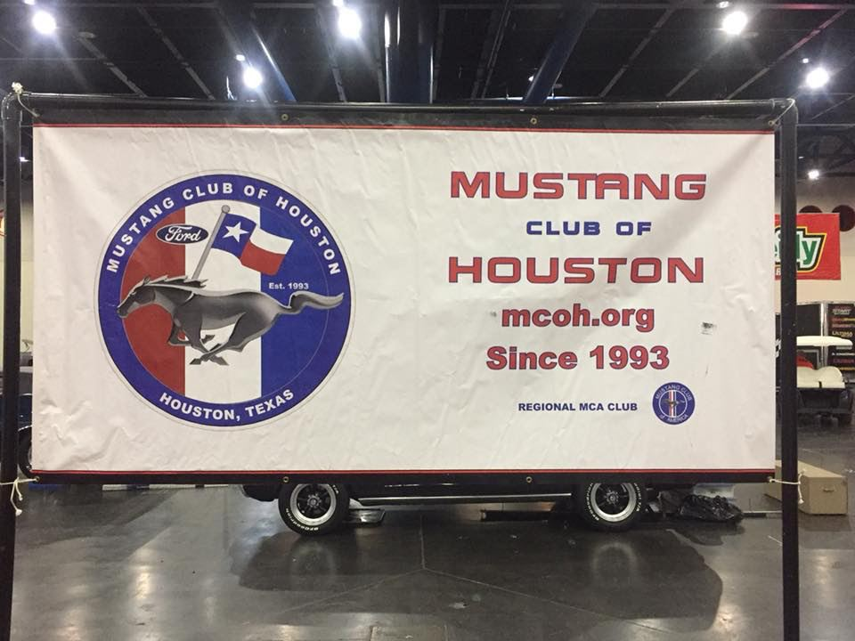 MCOH display at the annualHouston AutoRama held at the GRB Convention Center.