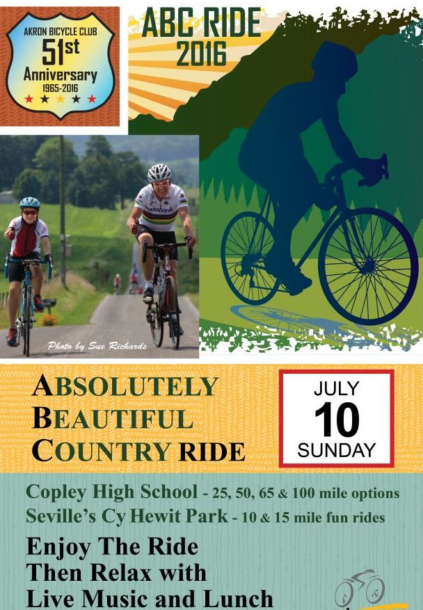 ABC Ride poster