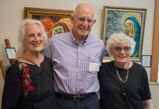 We celebrated the art and creativity of three talented local artists in a public viewing at the Marge Williams Center on Friday, June 2, 6:00 to 8:00.