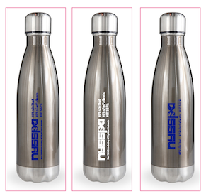 NYSSPA Double Barrel Swell Bottles in Gun Metal