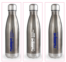 NYSSPA Double Barrel Swell Bottles in Gun Metal - click to view details