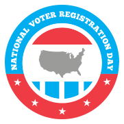 2015 National Voter Registration Day Logo