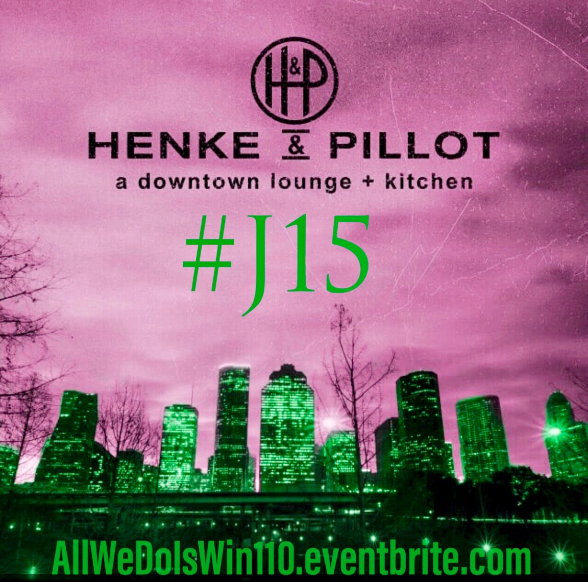 Henke & Pillot J15 Event Flyer 1
