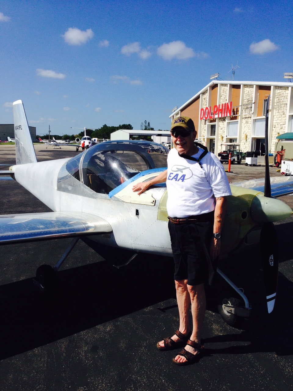 Martin Sobel at the RV-12
