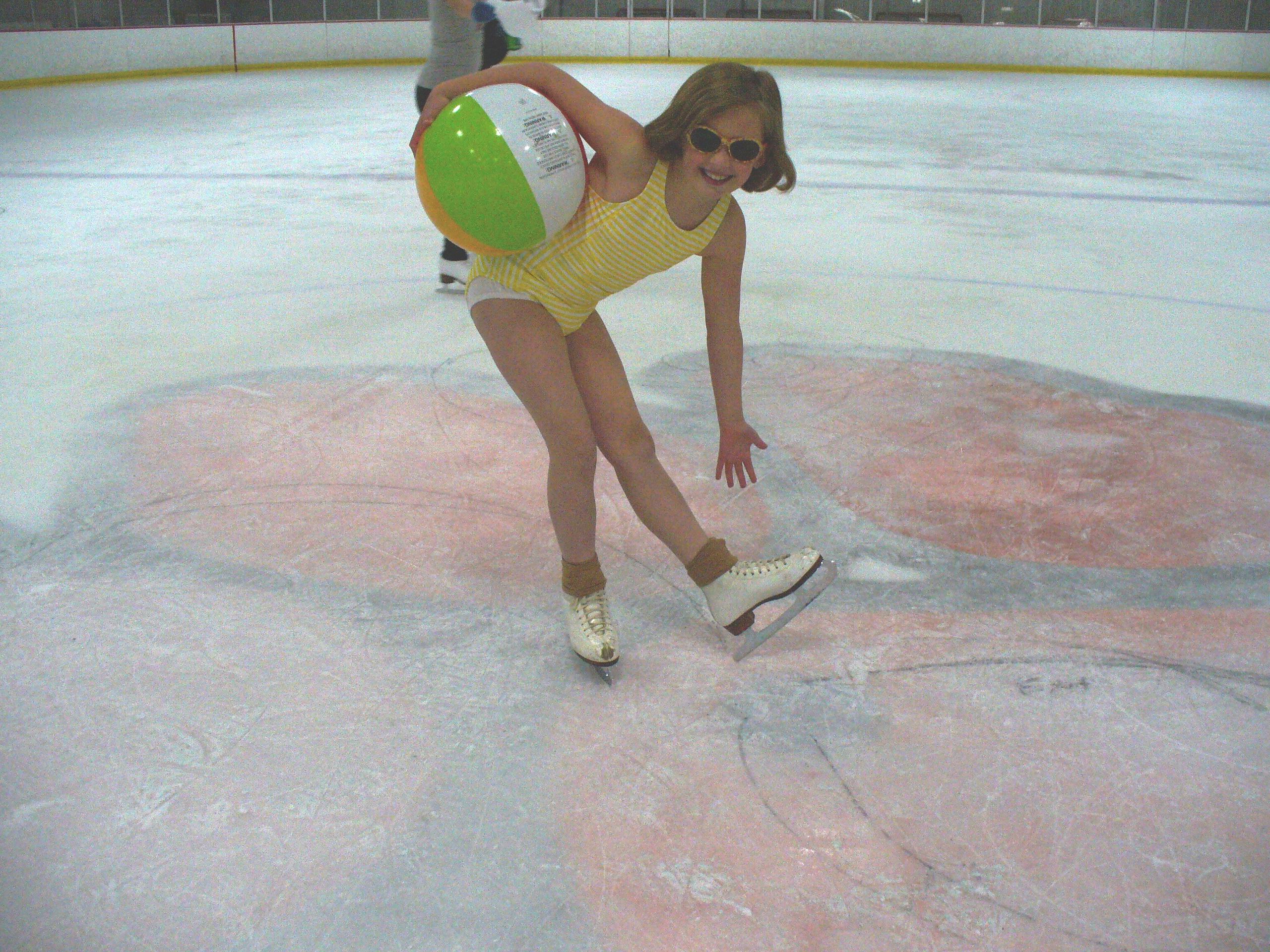 Girls got ice skating sex