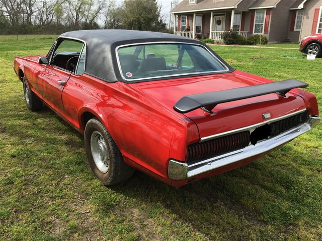 1968 Cougar FOR SALE